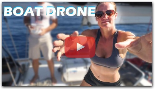 How To Fly A Drone From A Sailboat