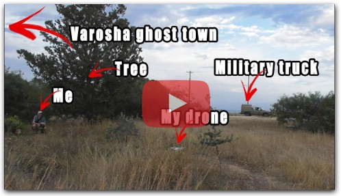 Almost lost my drone filming ghost town Varosha from the Greek side at 5 km distance