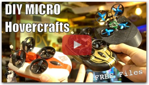 DIY Tiny Micro RC Hovercrafts!