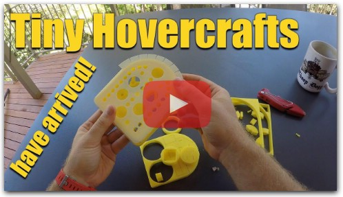 Tiny Hovercrafts have arrived!