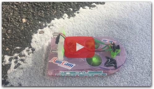 tiny whoop hover snow racer