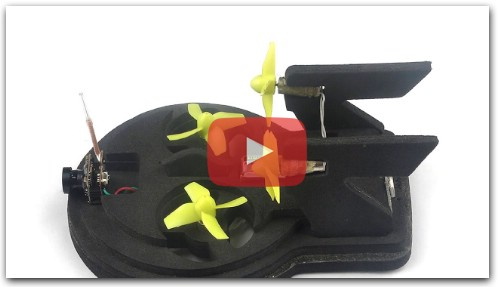 Tiny whoover EW65 FPV Hovercraft