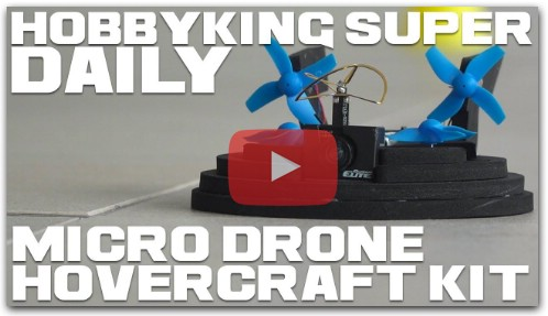 Micro Drone Hovercraft Kit