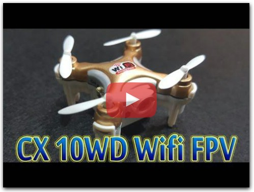 Cheerson CX 10WD Wifi FPV Drone Supper Mini
