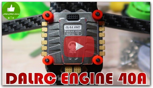 Регулятор DALRC ENGINE 40A 4 in 1 ESC, BLHeli_32, Dshot 1200!