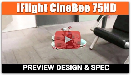 iFlight CineBee 75HD White Plate 2S Whoop