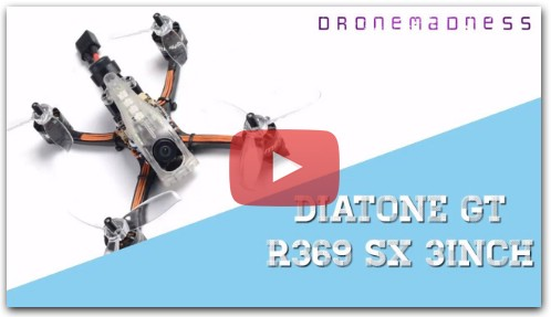 Diatone GT R369 SX 3inch 6S Crazy Racing Limited Edition PNP