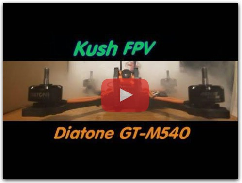 My Love for FPV (Diatone GT-M540 S-X)