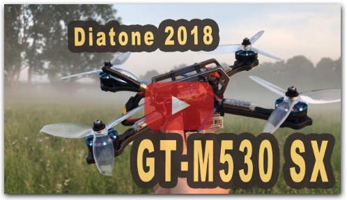 Diatone GT-M530 SX neue Version need for speed FPV Racer