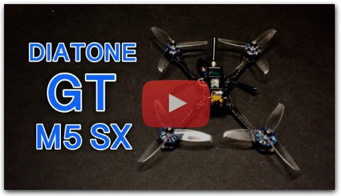 Flight Test Review Diatone GT-M530 Stretch X FPV Racer