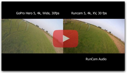 Runcam 5 vs GoPro Session 5 Compasion Video in 4K