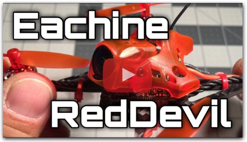 Видео обзор Eachine RedDevil 105мм 2-3S