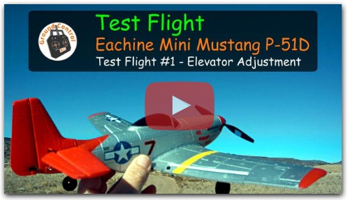Обзор Eachine Mini Mustang P51D RTF
