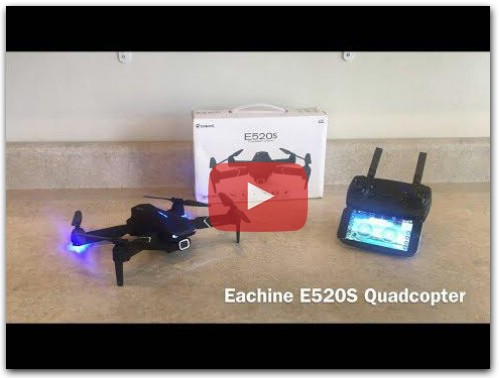 Eachine E520S Drone Review (BangGood)