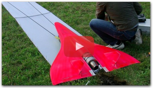 FASTEST RC TURBINE MODEL JET IN ACTION 727KMH