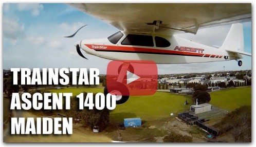 Обзор Volantex Trainstar Ascent 1400