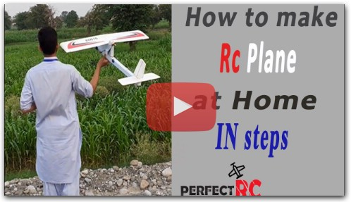 How to make Rc plane or glider at home