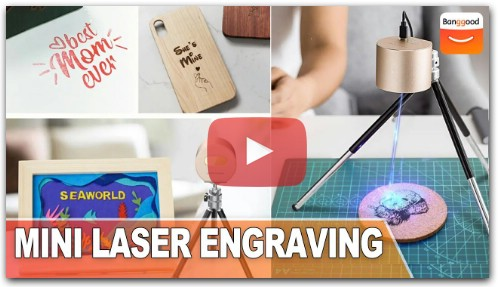 LaserPecker Mini Laser Engraving Machine