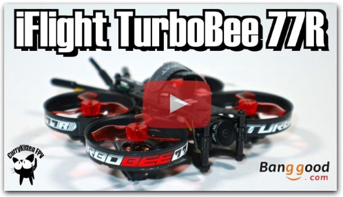 Обзор iFlight TurboBee 77R 2S/3S Racing whoop