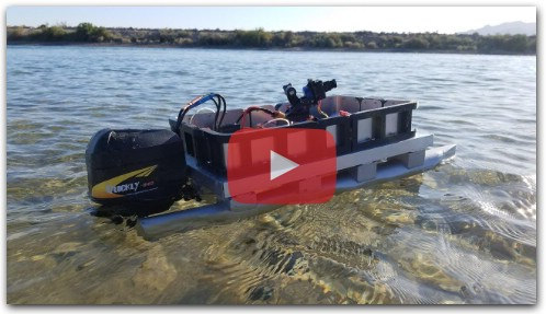 RC Pontoon Boat Build (DIY From Scratch)