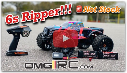 Обзор EAT02 EACHINE 1/8th Scale OMGRC