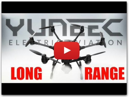 TYPHOON H YUNEEC LONG RANGE