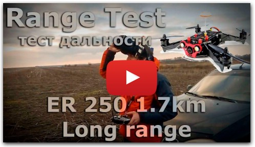 Eachine racer 250 long range 1.7km