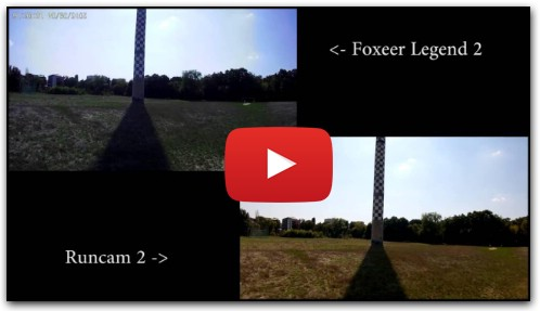 FOXEER Legend 2 vs Runcam 2
