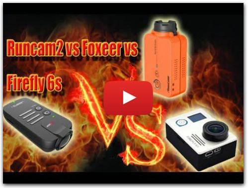 Runcam2 vs Foxeer Legend vs Firefly 6s