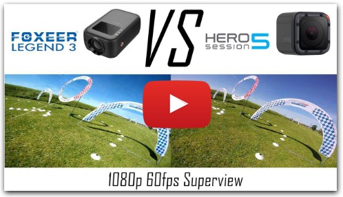 Foxeer Legend 3 VS Gopro Session 5