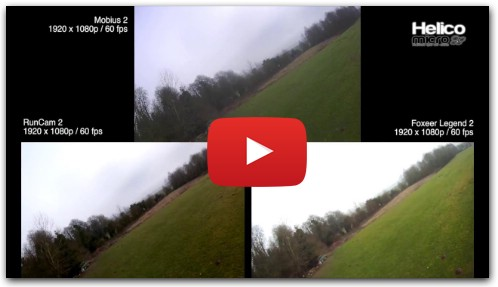 Comparatif Mobius 2 vs RunCam 2 vs Foxeer Legend 2