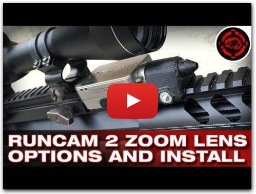 RunCam 2 Zoom Lens Install + New Mount