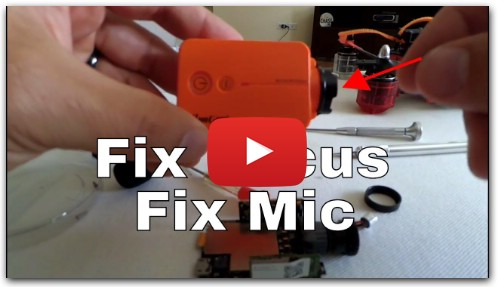Runcam 2 Focus Fix & Mic Fix