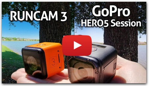 SUPER CHEAP $99 RunCam 3 vs $299 GoPro HERO5 Session!!