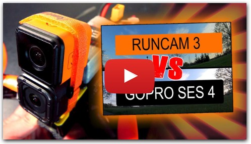 RunCam 3 vs GoPro Hero 4 Session