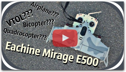 Обзор Eachine Mirage E500
