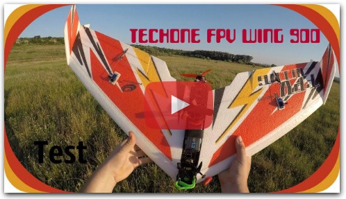 Тест крыла TechOne FPV Wing 900