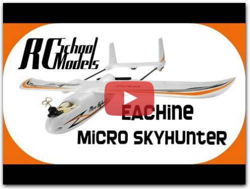 Eachine Micro Skyhunter, mini FPV самоль!!!