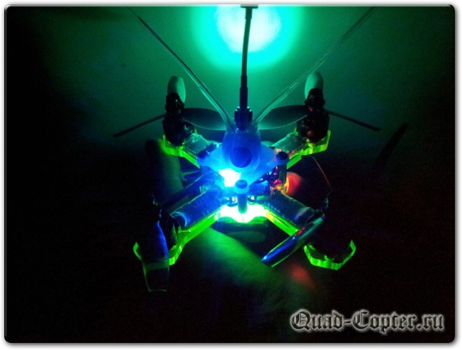 Чертежи квадрокоптера Green Bee