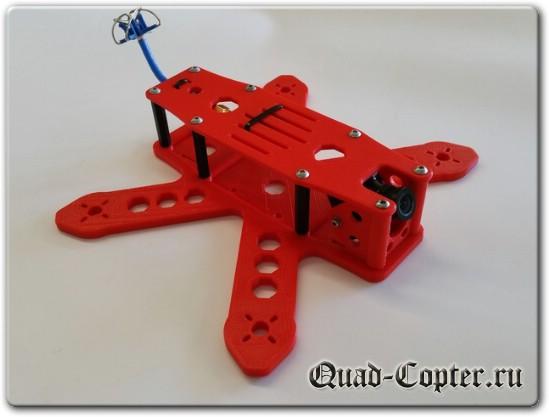 чертежи квадрокоптера для Drone racing Mauler 180