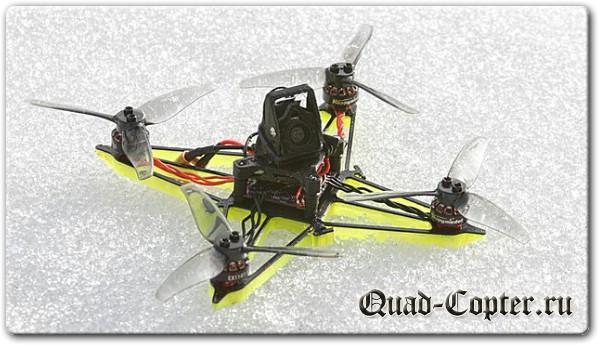 Бесплатные чертежи для 3D принтера - FPV квадрокоптер GR1FF3