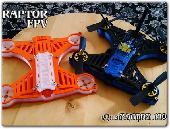 Чертежи квадрокоптера Raptor FPV 190