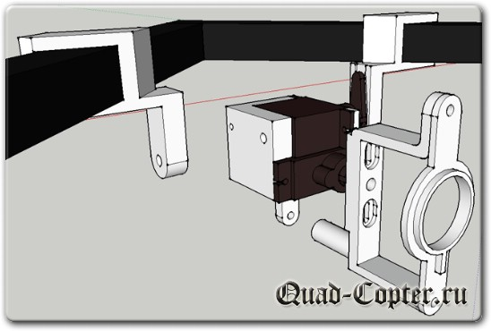 Сервоподвес для экшенкамеры на квадрокоптер