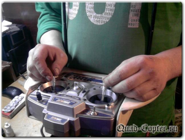 Пульт управления для квадрокоптера