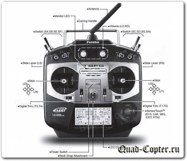 Какой пульт для управления дроном выбрать