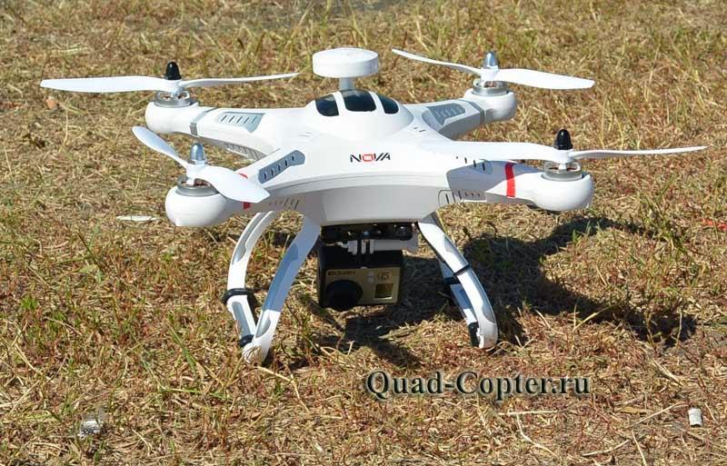 Квадрокотпер для полетов с камерой Nova