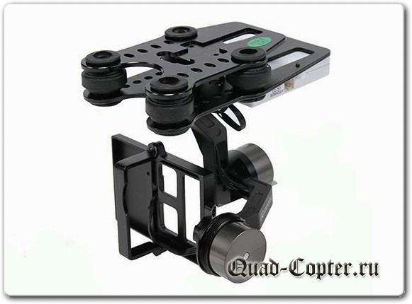Подвес камеры для квадрокоптера своими руками