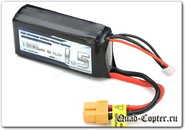 Как выбрать аккумулятор для квадрокоптера