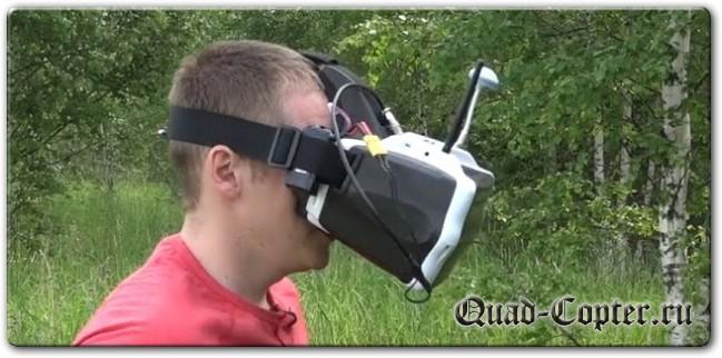 Видеошлем для Drone Racing