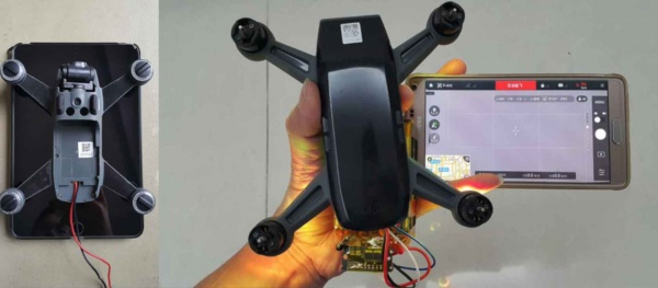 Фронтальная камера к коптеру spark купить spark напрямую с завода в тамбов